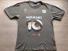 """olivfarbenes Jungen T-Shirt Größe ca 164  /  L   """" GERMANY""""  Aufdruck"""