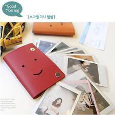 SMILE v.1 Mini Photo Album Fujifilm FUJI  instax instant film Card Holder RED