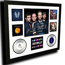 COLDPLAY SIGNED LIMITED EDITION FRAMED MEMORABILIA
