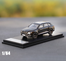 1/64 Scale Bentley Bentayga Suv Black Color Alloy Model Car Gifts Collection