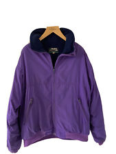 Vintage Musto Snug Polartec Fleece Lined Jacket Purple Medium 1980s