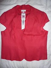 New NWT Marks and Spencer pink short sleeved jacket blazer