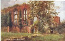Warwickshire Postcard - Banqueting Hall - Kenilworth Castle U1405
