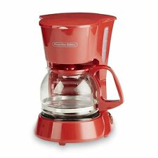 Automatic Coffee Maker 4 Cup Morning Coffee Drink Compact Home Office Machine