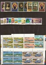 St.Lucia/Montserrat/St. Christopher/Nevis/Anguill a- 82 (Mnh) stamps