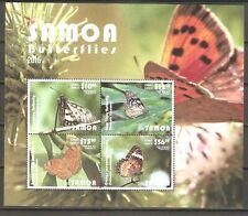 Schmetterlinge Samoa Block 99 postfrisch