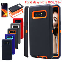 Samsung Galaxy Note 8 S8+ Phone Case Shockproof Armor Hybrid Rubber Hard Cover