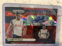 2020-21 Panini Prizm RED ICE Gareth Bale Flashback Autographs soccer Tottenham
