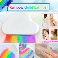 Skin Care Cloud Rainbow Bath Salt Ball Essential Oil Effervescent Bubble Bath