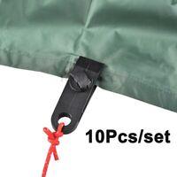 10Pcs Heavy Duty Tarp Clips Tarpaulin Tent Awning Clamp Camping Canvas Buckle