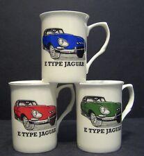 JAGUAR E TYPE  car Fine Bone China Mug Cup Beaker