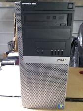 Dell Desktop Tower Optiplex 980 Intel Core i5 3.20GHz 8GB RAM, 500GB  Win 10 Pro