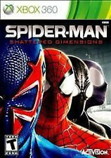 Spider-Man: Shattered Dimensions (Microsoft Xbox 360, 2010) VERY GOOD