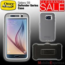 GENUINE Otterbox Defender Series Shockproof Case in White - Samsung Galaxy S6