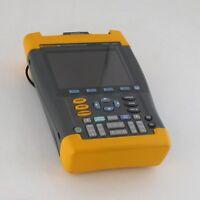 Fluke 196C Digital Oscilloscope ScopeMeter Handheld 1GS/s Dual-Input 100MHz