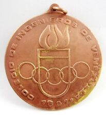 Old Sport Participant  Medal Venezuela National Sports Games Barquisimeto 1983