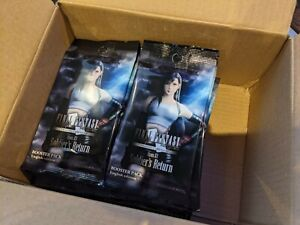 Final Fantasy TCG Opus XI (11) boosters X 36 - sealed and new