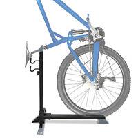 HOMCOM 74cm Adjustable Metal Bike Rack Home Cycle Storage Stand w/ Safety Strap