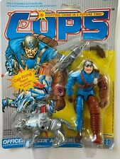 Cops N Crooks Hasbro Officer Bowzer and Blitz 100% Complete Action Figure