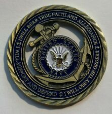 New Oversize Poker Chip Navy Golf Ball Marker Coin Incredible Detail