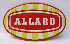1950's ALLARD metal car emblem plaque Wheaties Cereal Premium *