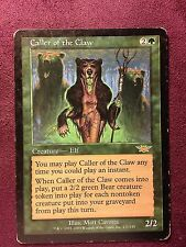 Caller of the Claw LEGION  VO  MTG PLAYED (see scan)