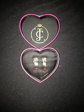JUICY COUTURE E-LOVE TRIPLE STUD EARING SET RRP £69 NOW 27.00