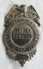 Obsolete American Protective League Secret Service Badge w/Eagle Old Vtg Antique