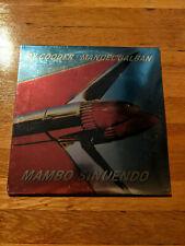 Ry Cooder Manuel Galban Mambo Sinuendo 2xLP sealed vinyl