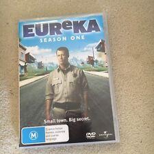 EUREKA SEASON ONE DVD. 3 DISCS. REGION 2/4/5