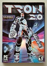 TRON 2.0 (PC game 2003) - NEW SEALED CD-ROM!!  Complete in Box