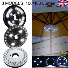 More details for 24/28/48 led light for patio umbrella parasol 3 brightness mode camping lamp uk