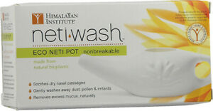 Neti-Wash Eco Neti Pot Nonbreakable by Himalayan Institute, 1 piece