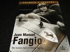 JUAN MANUEL FANGIO HUMAN FACE FERRARI MASERATI 250F CUBA BUENOS AIRES GP LE MANS