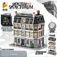 PANLOS 613001 Doctor Strange's Sanctum Sanctorum mit LED (OVP) 6.040 Teile!
