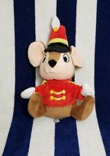 "New listing Disney Parks Dumbo Timothy Q. Mouse Toy Plush Stuffed Animal Disneyland 6"" Tall"