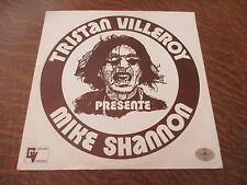 33 tours TRISTAN VILLEROY presente MIKE SHANNON