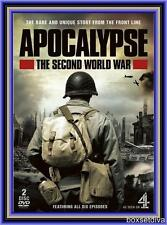 APOCALYPSE: THE SECOND WORLD WAR - COMPLETE SERIES   *BRAND NEW & SEALED DVD*