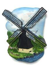 Wind Mill, HOLLAND SOUVENIR RESIN 3D FRIDGE MAGNET SOUVENIR TOURIST GIFT 042
