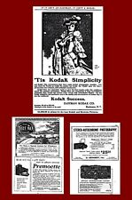 300 A to Z  Camera ADS From 1888-1940 CD $10