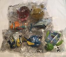 Finding Nemo Mcdonalds Happy Meal Toy Lot 2003 Sealed NIP