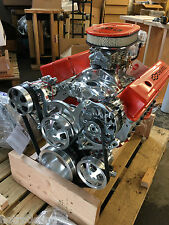 350 SBC CRATE MOTOR 450HP SBC WITH A/C ROLER TURN KEY 700R4 trans included LOOK!