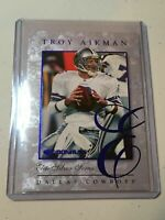 F31427 1997 Donruss Elite Series/5000 #9 Troy Aikman Dallas Cowboys