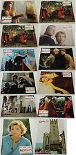 1985 LADYHAWKE Spanish LOBBY CARDS 12 SET~ Matthew Broderick, Michelle Pfeiffer
