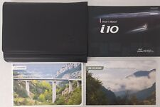 GENUINE HYUNDAI i10 2011-2013 OWNERS MANUAL HANDBOOK WALLET PACK A-887