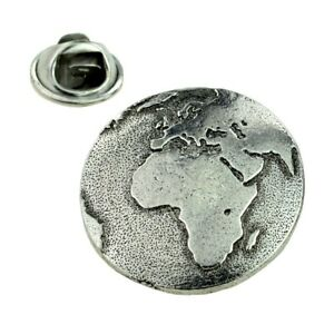 Planet Earth From Space Pewter Lapel Pin Badge XWTP160