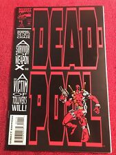 Deadpool #1 1993 The Circle Chase