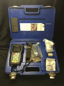Olympus 45MG Ultrasonic Thickness Gage w/ D7906-SM Transducer Gauge