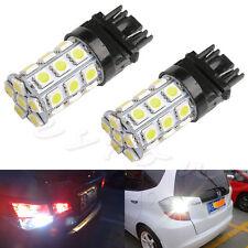 12V 3157 27SMD 5050 Reverse Brake Turn Tail Back Up LED Light Bulb White Lamp