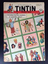 Fascicule périodique Journal Tintin N° 39 1950 TBE Hergé